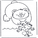 Småbarn - Frog and bear