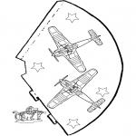 Kreativitet - Funny hat Airplane