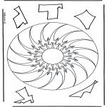 Mandala - Geomandala 10