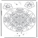 Mandala - Geomandala flowers
