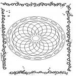 Mandala - Geometric mandala 1