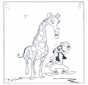Giraffe and Goofy