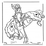 Dyr - Girl on horse 2