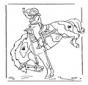 Girl on horse 2