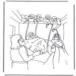 Bibelsk - Haealing of the paralysed man 1