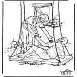 Bibelsk - Haealing of the paralysed man 4