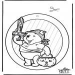 Temaer - Halloween suncatcher 1