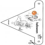 Temaer - Haloween vlaggetje