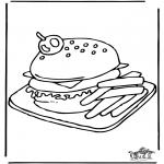 Litt av hvert - Hamburger