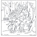 Litt av hvert - Hans en Grietje bij het snoephuisje