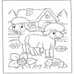 Småbarn - Happy sheep