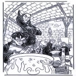 Tegneseriefigurer - Harry potter 8