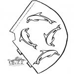 Kreativitet - Hat Dolphin