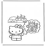 Tegneseriefigurer - Hello Kitty 11