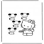 Tegneseriefigurer - Hello Kitty 12