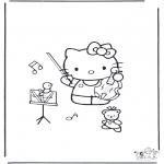 Tegneseriefigurer - Hello Kitty 17