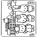 Tegneseriefigurer - Hello Kitty 20