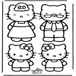 Tegneseriefigurer - Hello Kitty 22