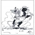 Tegneseriefigurer - Hiawata 2
