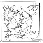 Tegneseriefigurer - Hiawatha