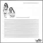 Litt av hvert - High school musical briefpaper