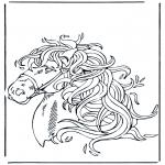 Dyr - Horse head 1