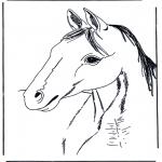 Dyr - Horse head 3