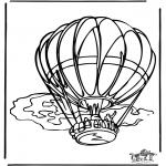 Litt av hvert - Hot air balloon