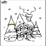 Vinter - House in the snow 2