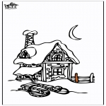 Vinter - House in the snow 3