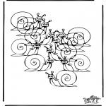 Kreativitet - How many snails