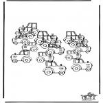 Kreativitet - How many tractors