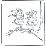 Tegneseriefigurer - Ice Age 6