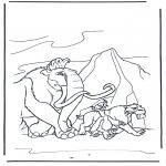 Tegneseriefigurer - Ice Age 9