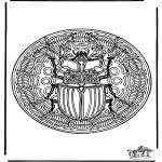 Mandala - Insect mandala 1
