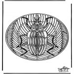 Mandala - Insect mandala 2