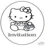 Kreativitet - Invitation birthday