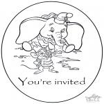 Kreativitet - Invitation Dombo