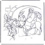 Bibelsk - Jesus entry into Jerusalem 4