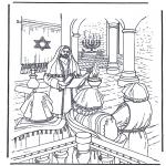 Bibelsk - Jesus in temple