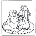 Bibelsk - Jesus in the manger