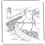 Bibelsk - Jesus near the water