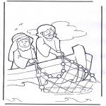 Bibelsk - Jesus on boat