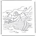 Bibelsk - Jesus on the water 1