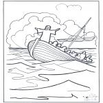 Bibelsk - Jesus on the water 2