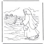 Bibelsk - Jesus walking on water
