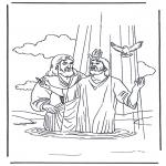 Bibelsk - Jezus en Johannes de Doper