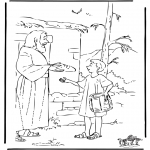 Bibelsk - Joseph brings food