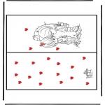 Kreativitet - Kaart Valentijn 1
