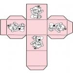 Temaer - Kado doosje baby